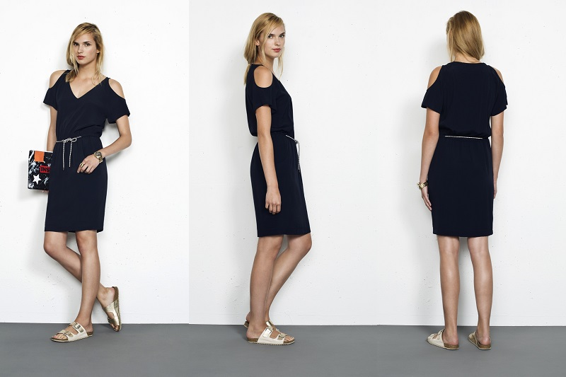 tendencia cut out shoulders