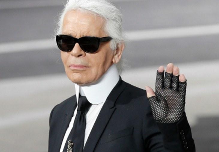 El excéntrico Karl Lagerfeld