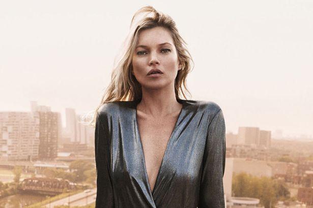 El estilo único de Kate Moss