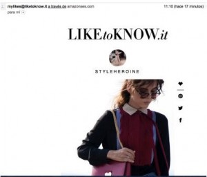 La app Like To Know It te permite copiar los mejores looks