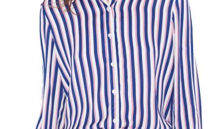 Únete a la tendencia masculina: camisas a rayas para nosotras