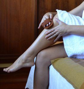 La nueva depilación natural: la manopla