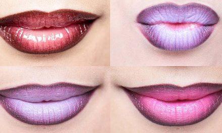 El estilo ombre en tus labios