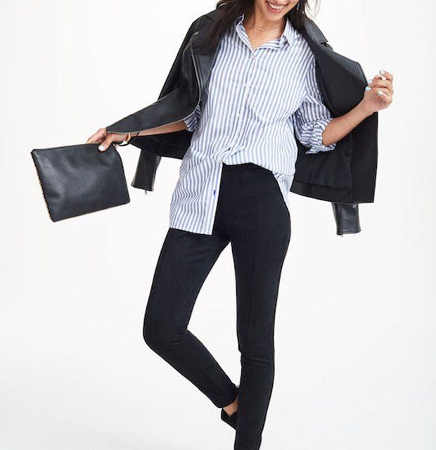 La comodidad de los leggings con el look de los jeans: Los Jeggins