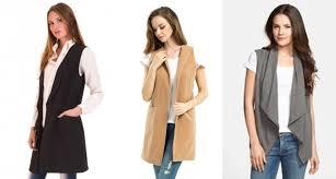 tendencias de moda otoño invierno chalecos