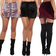 tendencias de moda otoño invierno falda terciopelo