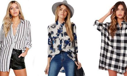 La tendencia de las blusas oversize llega para todas nosotras