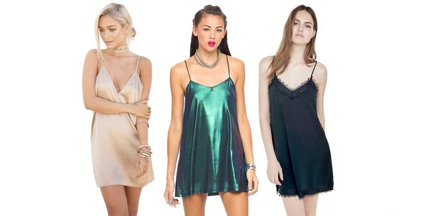 El compañero ideal para las fiestas: el vestido lencero