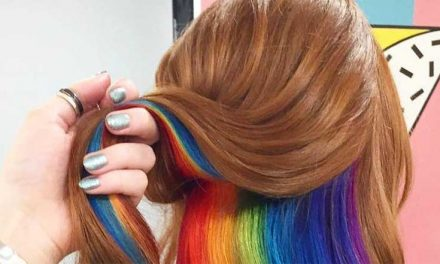 Llena tu cabello de color con la tendencia Hidden Rainbow