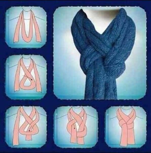 usar bufanda aro