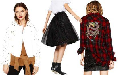 Zara nos muestra su nueva colección Punk Romance