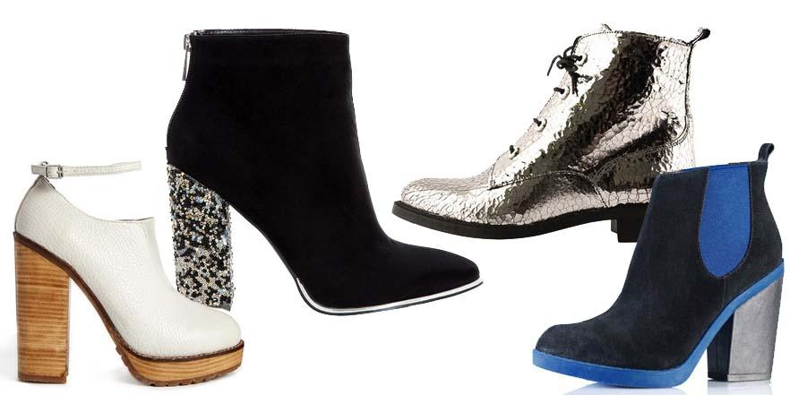 Los botines: el calzado estrella en esta temporada