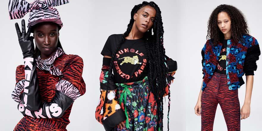 H&M se alía con Kenzo y lanzan una nueva colección
