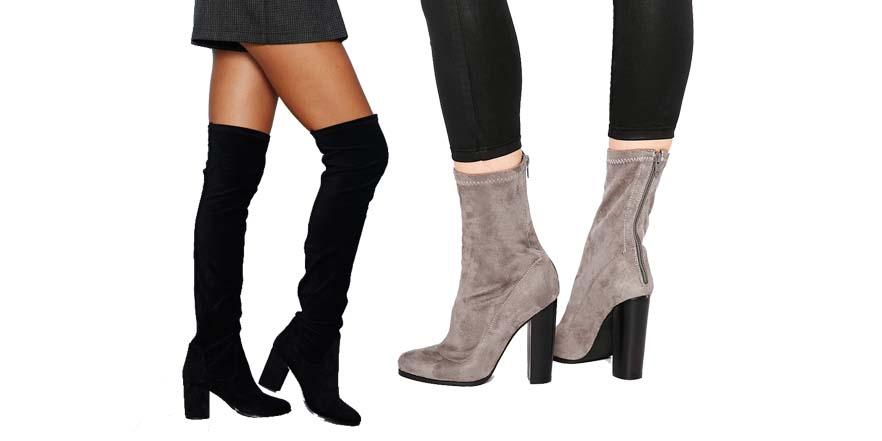 Conoce las nuevas botas para el otoño: Socks boots