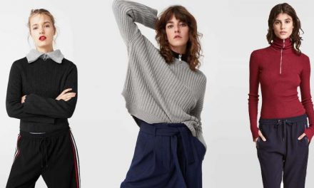 Encántate con estos suéteres con cierre al frente