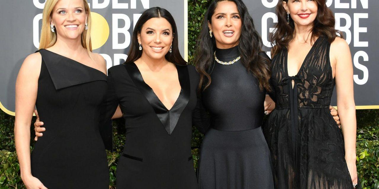 Time's Up : los Golden Globes se vistieron de negro