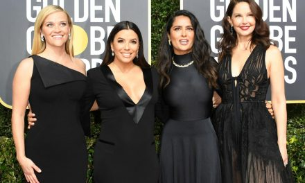Time's Up : los Golden Globes se vistieron de negro