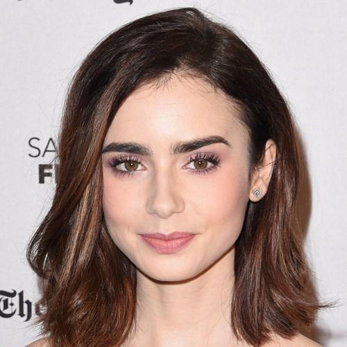 Peinados que estilizan tu cara lily-collins-