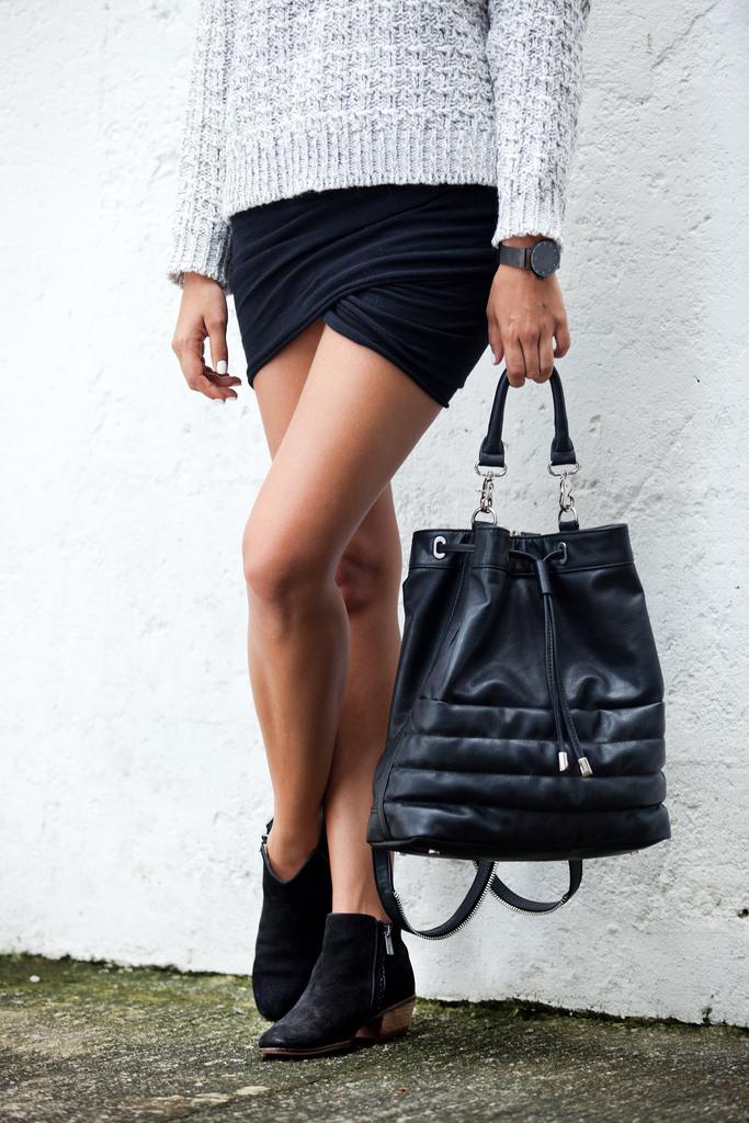 outfit para la primera cita 3 minifalda