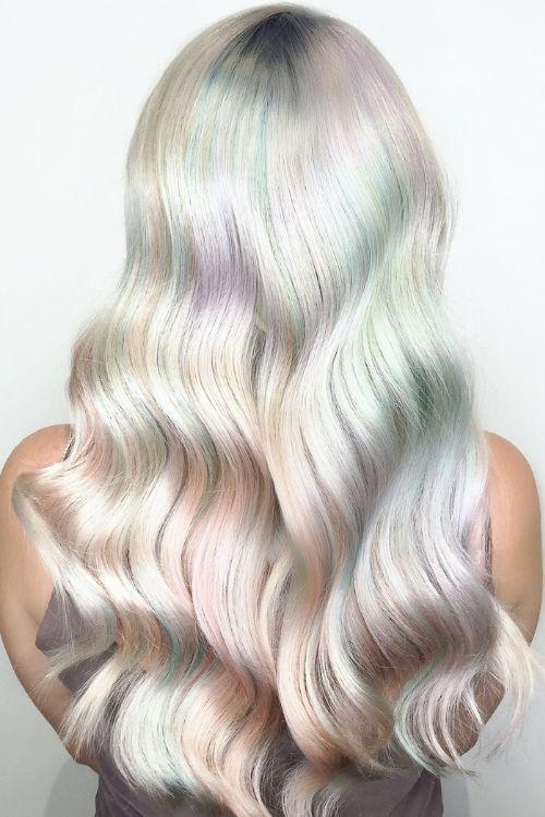 opal hair unicornio