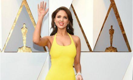 Eiza González y su polémico vestido en la entrega de los premios Oscar
