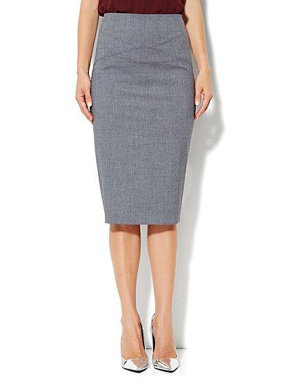 look de oficina falda