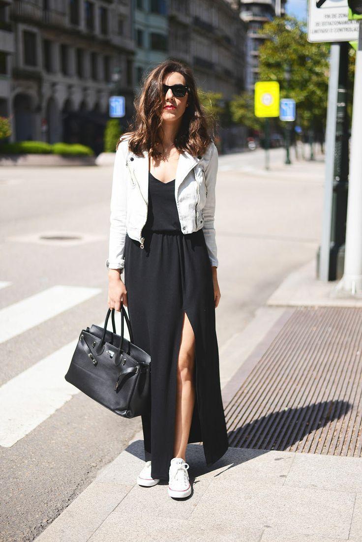 Tenis con vestido Vent Pinterest