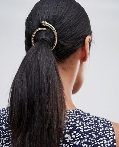 broche de vibora para el pelo