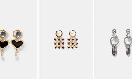 Los aretes de Zara para crear el look de noche perfecto