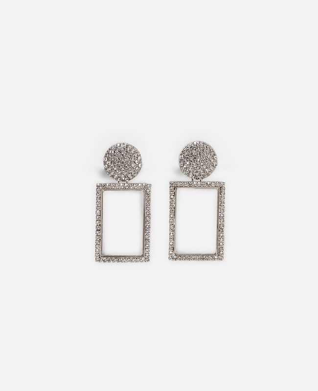 aretes de cristales de zara