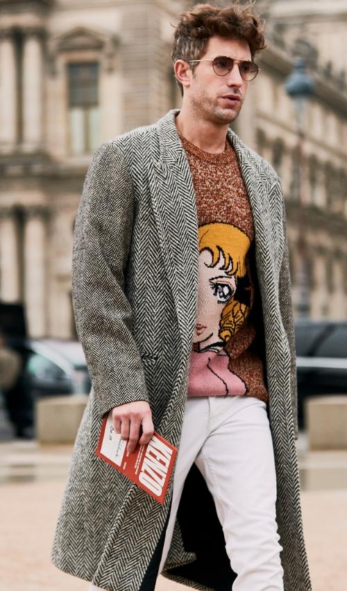 moda masculina street style parís 2019
