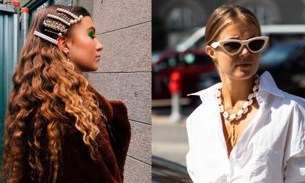 Perlas y conchas: accesorios de moda imprescindibles para esta primavera 2019