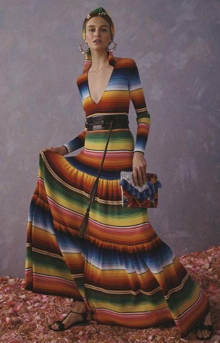 vestido sarape